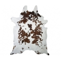 Tri Colour Cowhide Rug Medium Size